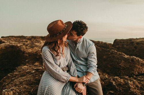 Would you like to be my Valentine? Beautiful intimate moment at our couple shoot at the sea.