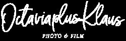 Logo OctaviaplusKlaus White